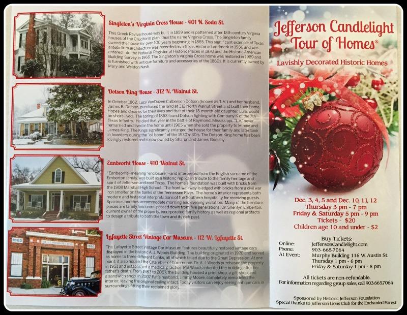 2015 Candlelight Brochure